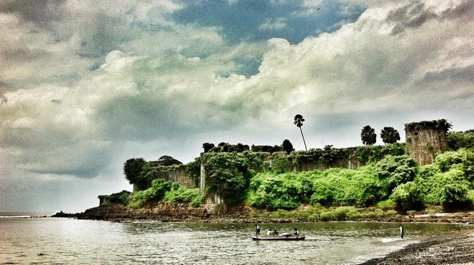 The Versova fort at Madh Island, built by the Portuguese in the 17th century, is a popular location for Bollywood films.