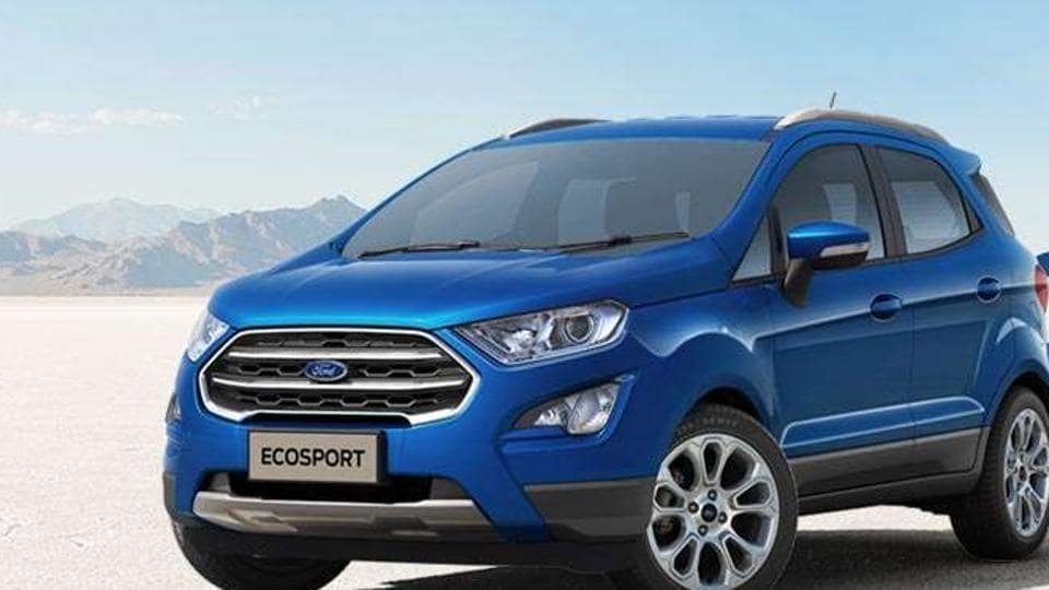 Ford Launches Upgraded Ecosport Price Up To Rs10 99 Lakh Autos