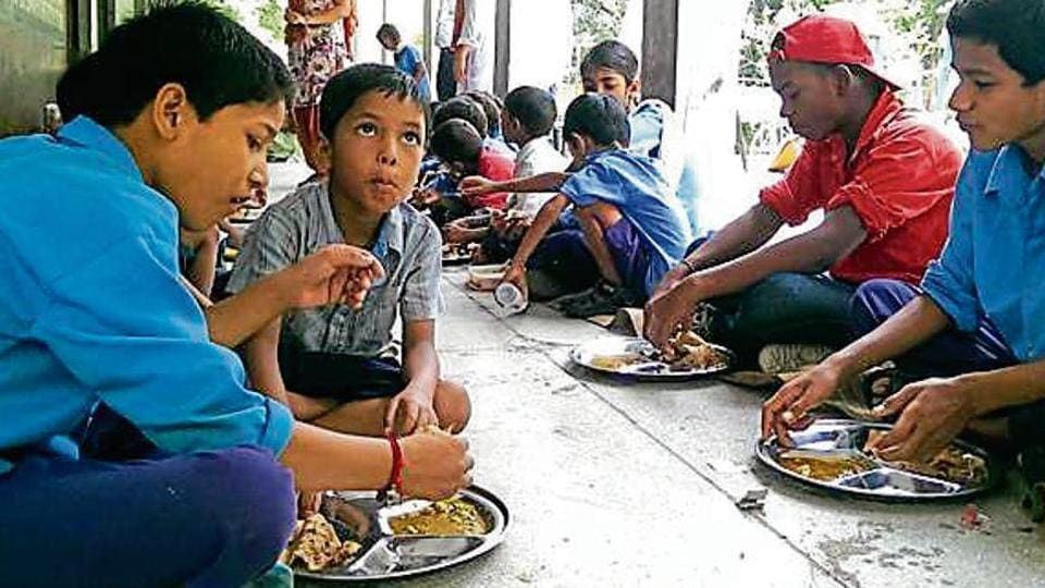 Kapurthala govt schools,mid-day meals,mid-day meal scheme