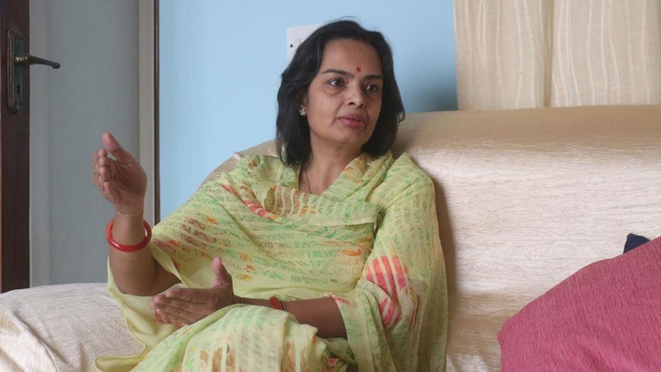 Baijiraj Trivikrama Kumari Jamwal, daughter of Mahendra Singh Mewar -- the 76th Maharana of the Mewar dynasty.