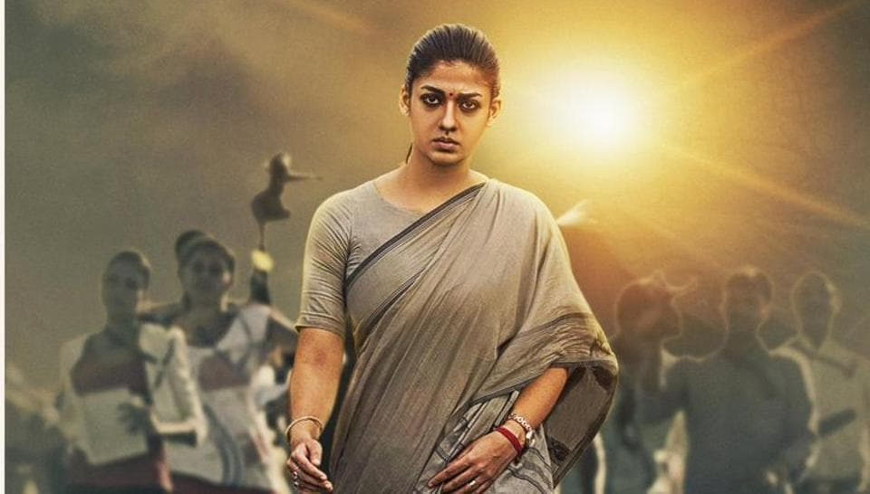 Nayanthara plays a tough district collector in Aramm.
