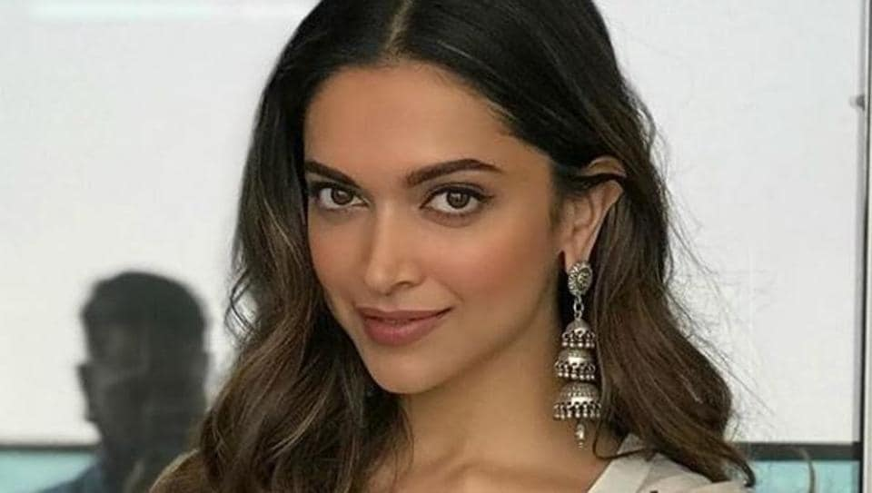 Deepika Padukone's bell-sleeve dress is a new take on a going-out ensemble.