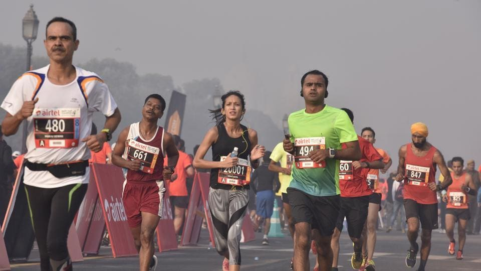 Bharti Airtel, the title sponsor for the Delhi Half Marathon since 2008, has asked organisers of the annual foot-race to address concerns of air pollution for it to continue the association, given the serious health risks to participants.