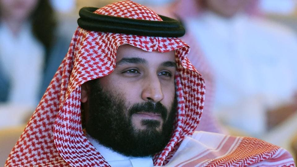 Saudi Crown Prince Mohammed bin Salman at the Future Investment Initiative conference in Riyadh in October.