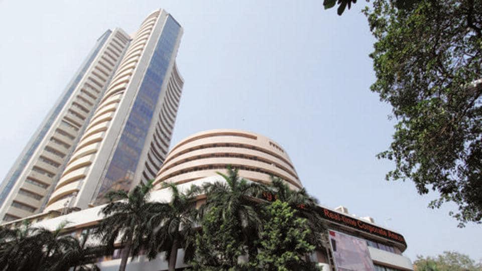 The Bombay Stock Exchange in Mumbai .