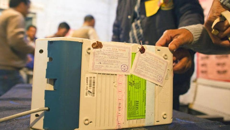 As many as 257 polling booths with VVPAT machines were set up for the bypoll.
