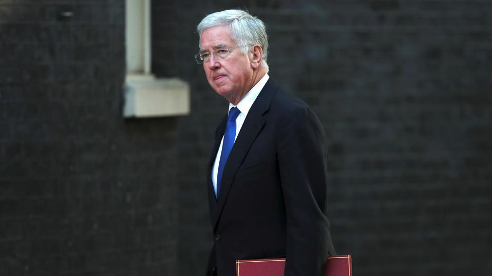 Following allegations British secretary of state for defence, Sir Michael Fallon, resigned saying he has fallen below the high standards expected of the armed forces
