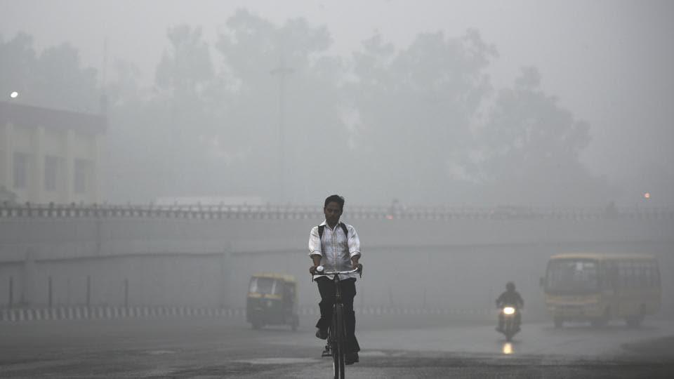 New Delhi,Smog,Air quality