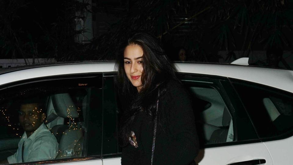 Sara Ali debuts with Kedarnath opposite Sushant Singh Rajput.