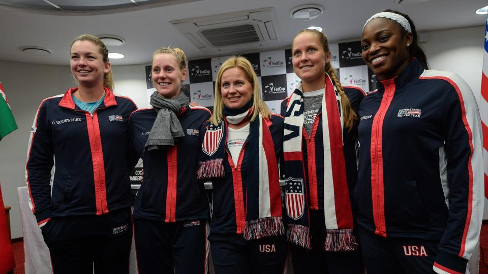 The USTennis team, comprising of  world number 10 CoCo Vandeweghe, US Open champion Sloane Stephens, Shelby Rogers and Alison Riske will be aiming to win the Fed Cup for the first time since 2000 as they prepare to take on Belarus in the final.