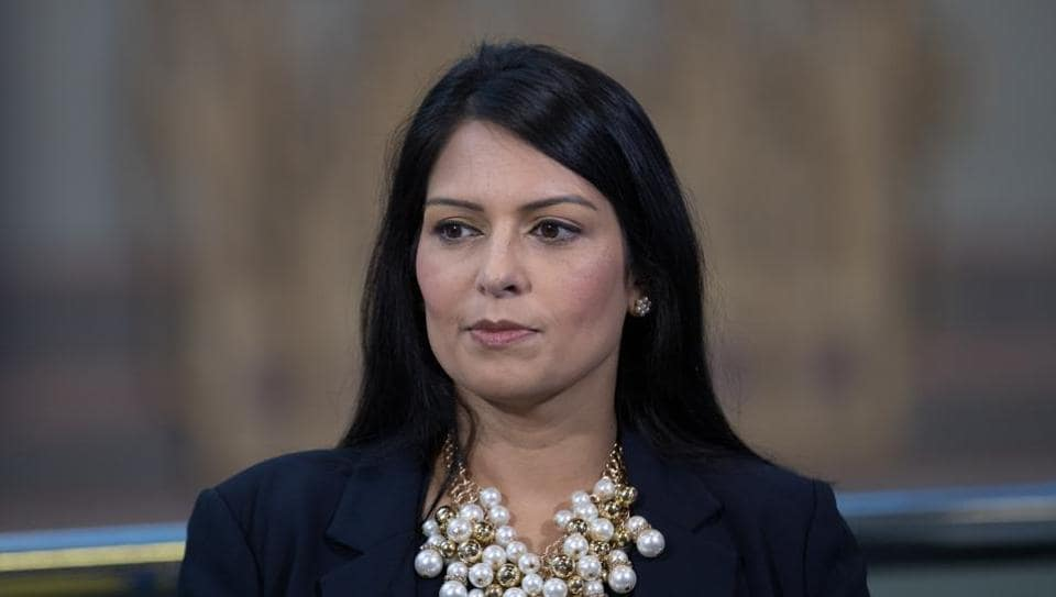 Priti Patel tendered her resignation after a meeting with Prime Minister Theresa May at Downing Street, which took place upon being summoned to London from an official tour of Africa.