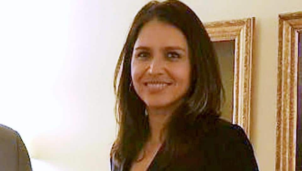 Member of the US House of Representatives Tulsi Gabbard in Washington.