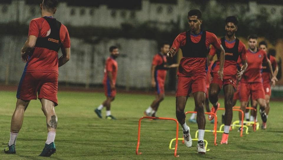 FC Goa players in training ahead of the Indian Super League 2017-18 season