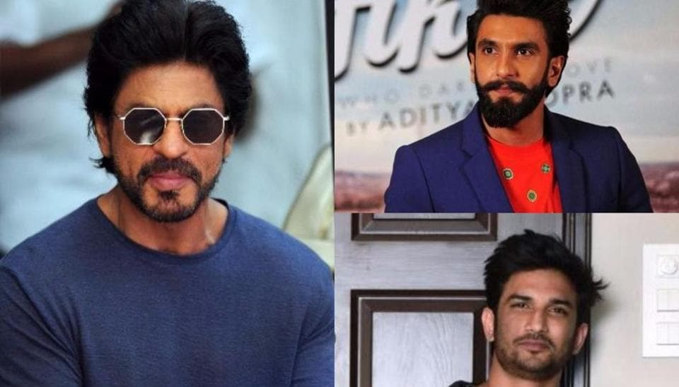 Shah Rukh Khan, Ranveer Singh and Sushant Singh Rajput's films will  release together on December 21 next year.