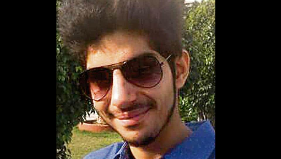 Tanishq Bhasin, 19, was found in the driver's seat of his Toyota Corolla car near Berwala village in Panchkula on Thursday morning. His father is an HC advocate.