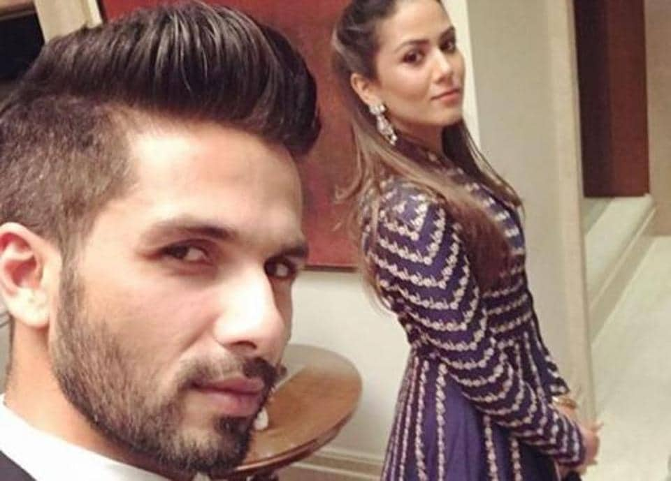 Actor Shahid Kapoor and wife Mira Rajput Kapoor were oozing all the dapper vibes, as they attended a wedding in Delhi on Thursday.
