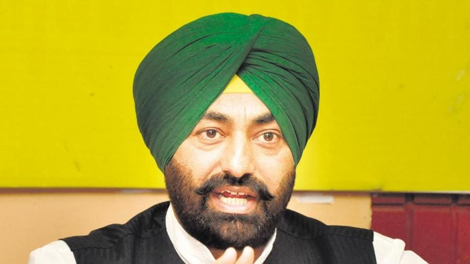 Punjab leader of Opposition Sukhpal Khaira.