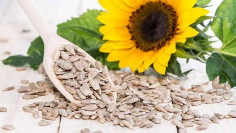 Sunflower seeds add vitamin E and B-complex to breakfast cereals.