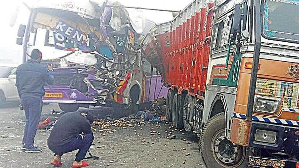 Collision took place near Bidhipur village in the Kapurthala district on Thursday.