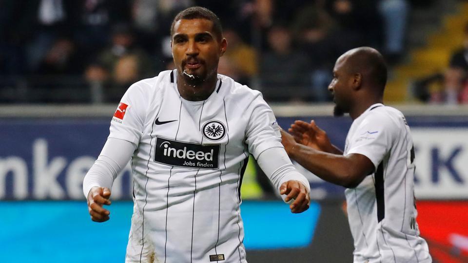 Kevin-Prince Boateng,Bungesliga,Eintracht Frankfurt