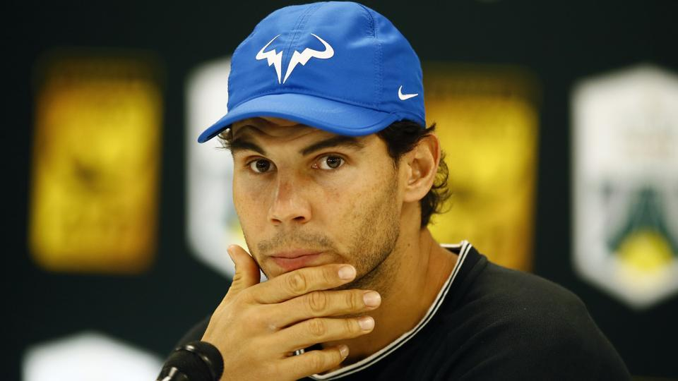 Rafael Nadal pulled out of Paris Masters tennis tournament due to a knee injury.