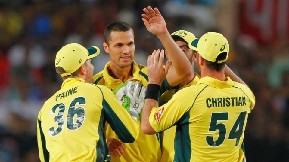 Nathan Coulter-Nile's chances of playing in the Ashes series against England has taken a massive hit after suffering a back injury in the warm-up game in Perth.