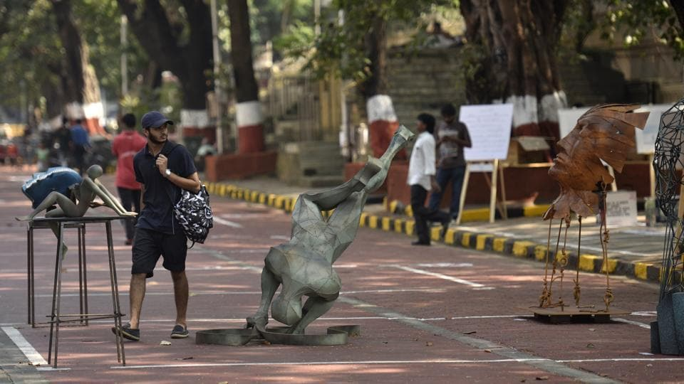 The Kala Ghoda open art gallery, which opened on October 23 last year, was shut within a month.