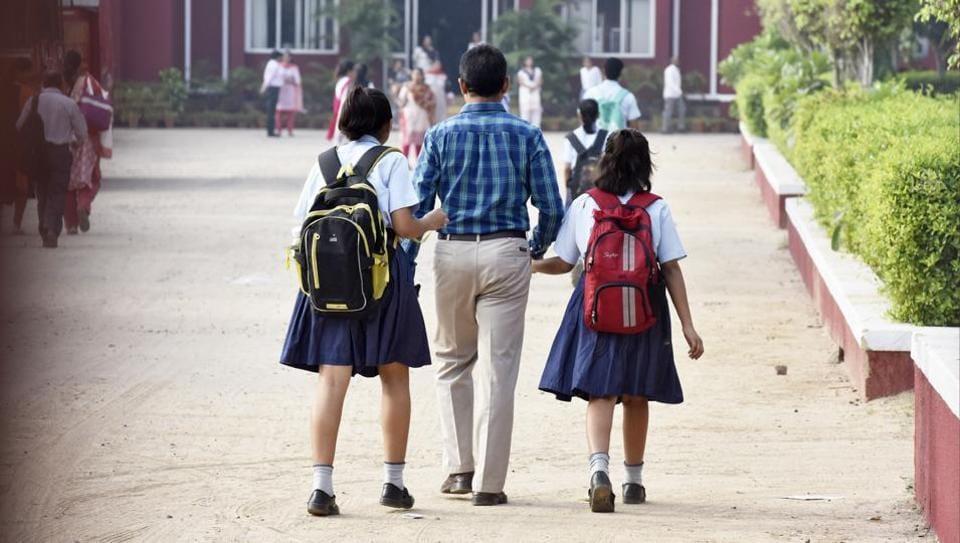 Ryan International school reopens ten days after the student's murder in Gurgaon, on September 18, 2017.
