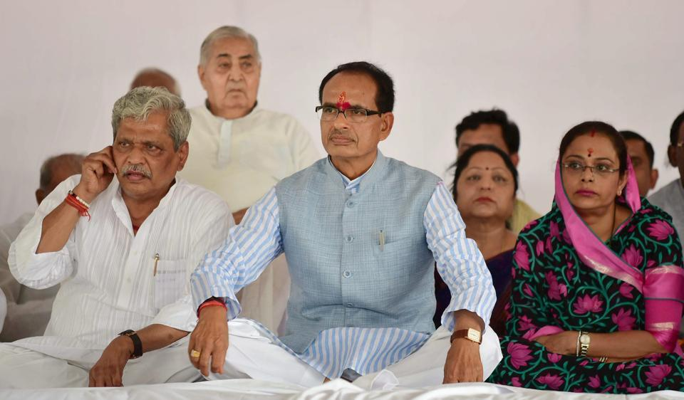 Last month Madhya Pradesh chief minister Shivraj Singh Chouhan told the US-India Strategic Partnership Forum in Washington that roads in Bhopal are superior to those in the American capital (File Photo)