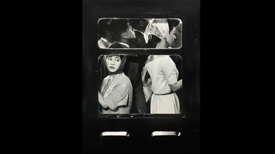'Subway, Tokyo,' 1961 is part of the book 'Tokyo' by William Klein. Klein was known to have been a significant innovator in the history and design of the photo book. (© William Klein / GALLERY FIFTY ONE)