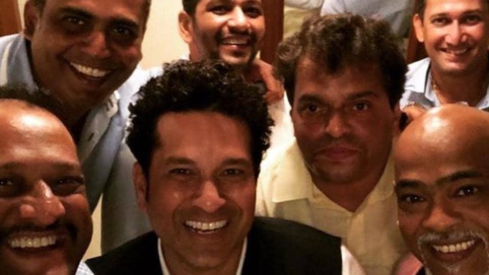 Sachin Tendulkar posted this picture on Instagram alongside his best friends.