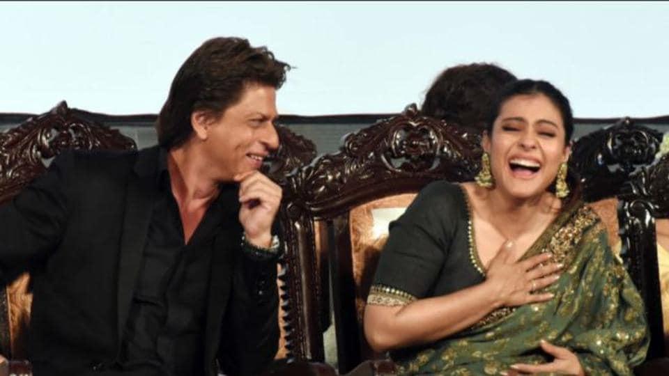 He's my best friend yaar: Shah Rukh Khan and Kajol at the Kolkata International Film Festival