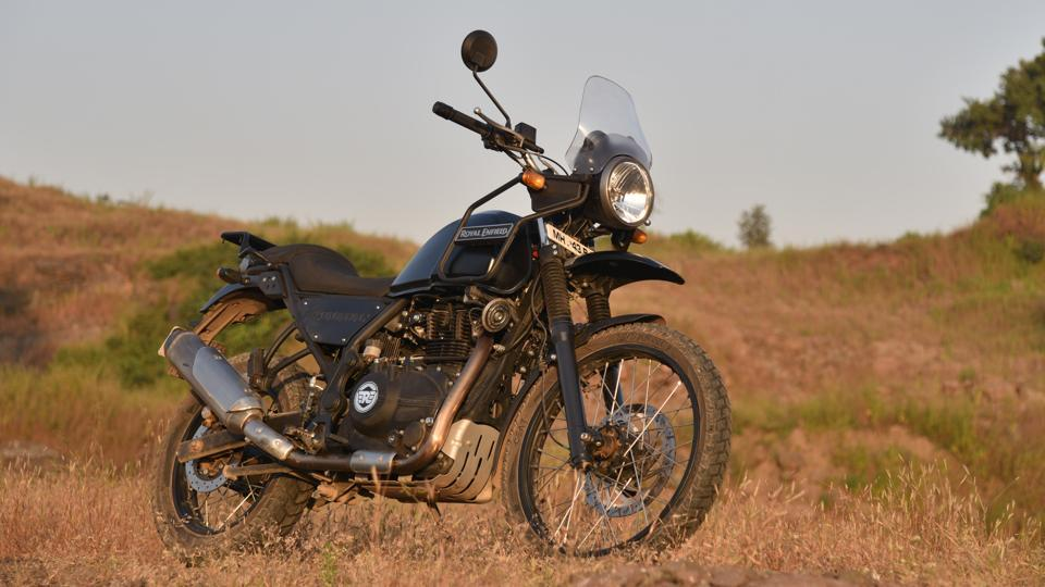 The Royal Enfield Himalayan is one of the most comfortable bikes currently available in India.