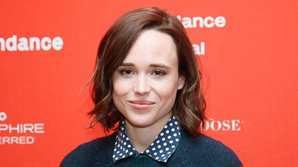 Actress Ellen Page in a file photo.