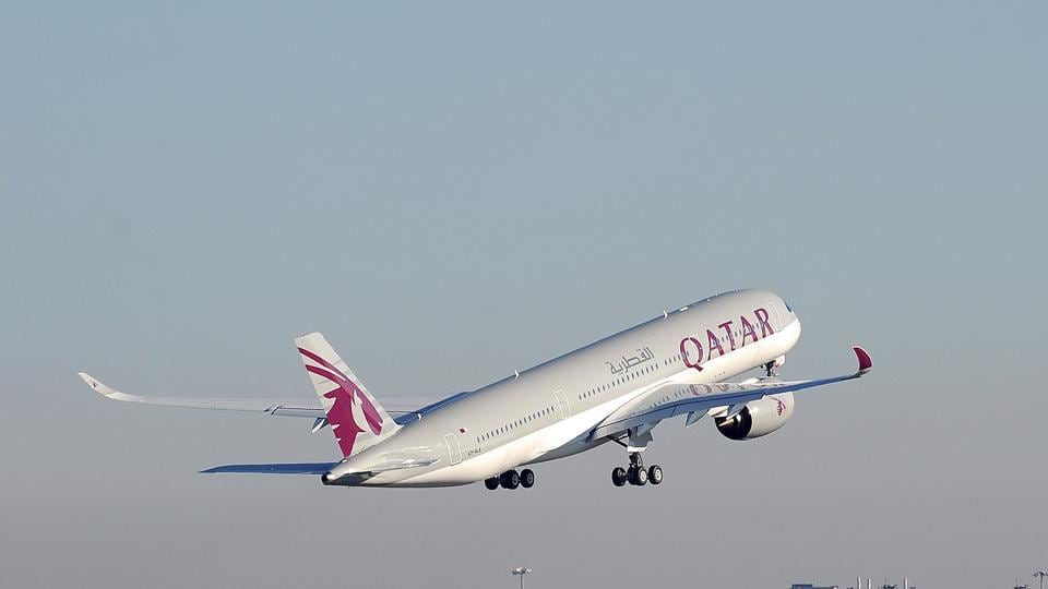 The commander of the Qatar Airways, flight number QR 507, had taken off from Thiruvananthapuram to Doha, when the commander of the flight reported to Goa Air traffic control that he is incapacitated.