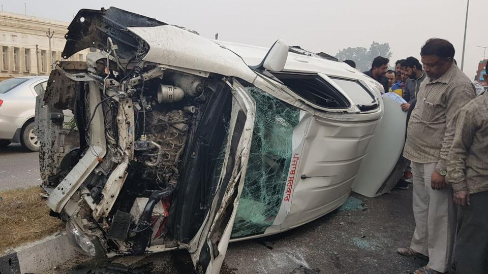 road accident,mishap,jalandhar
