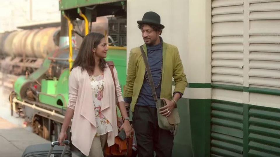Irrfan and Parvathy play adults seeking companionship on a dating website in Qarib Qarib Singlle.