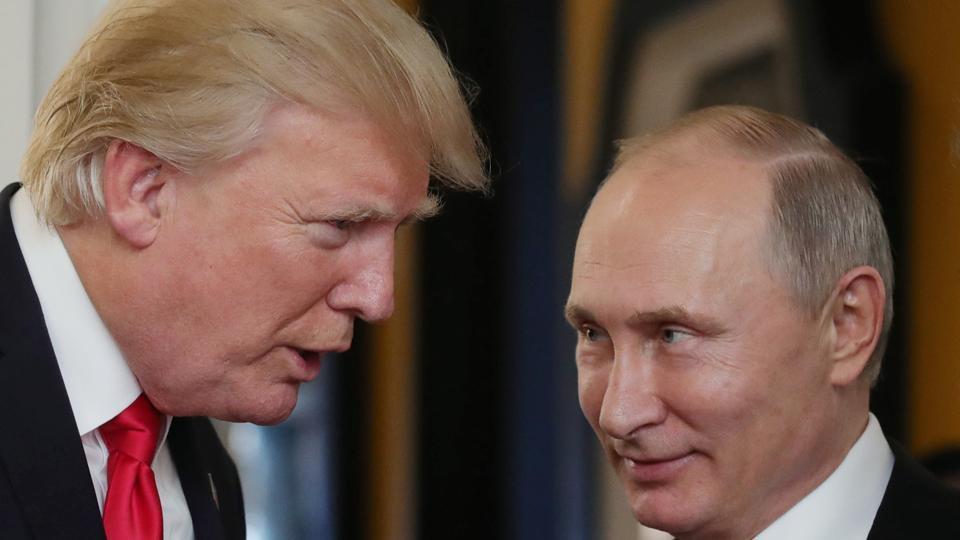 Donald Trump,Vladimir Putin,Trump Putin meet