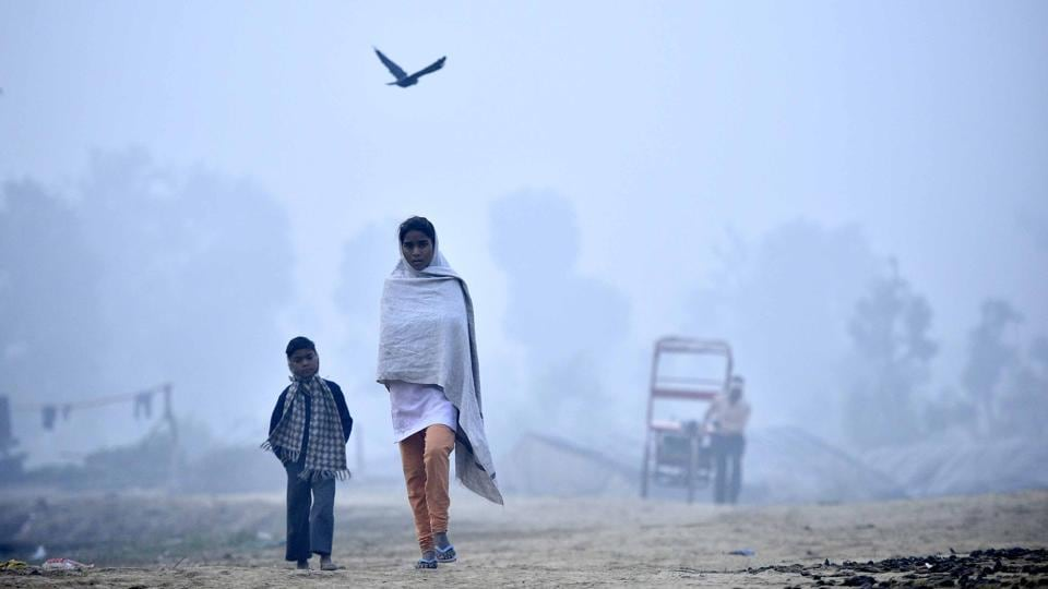 This week has been particularly hard for Delhi, with residents struggling to breathe due to terrible smog and air pollution levels.  (Arun Sharma / HT Photo)