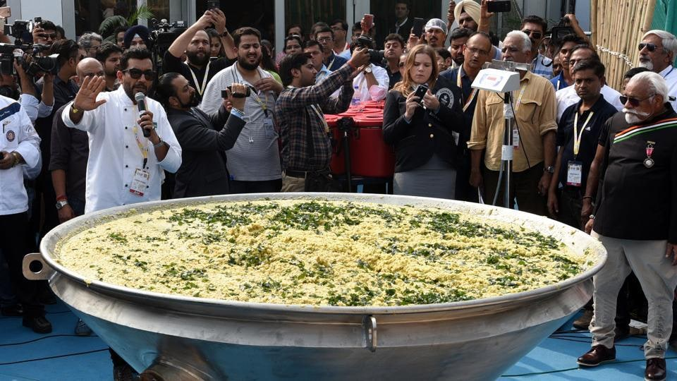 The 912 kg khichdi, that was prepared in New Delhi during the World Food India event on November 4, has made it to the Guinness World Records.
