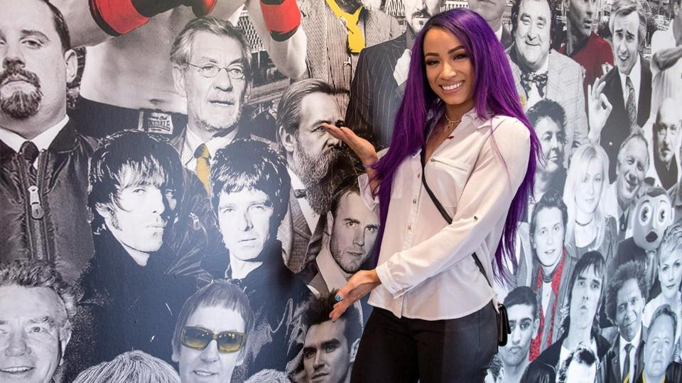 Sasha Banks is determined to feature in the main event of WrestleMania one day.