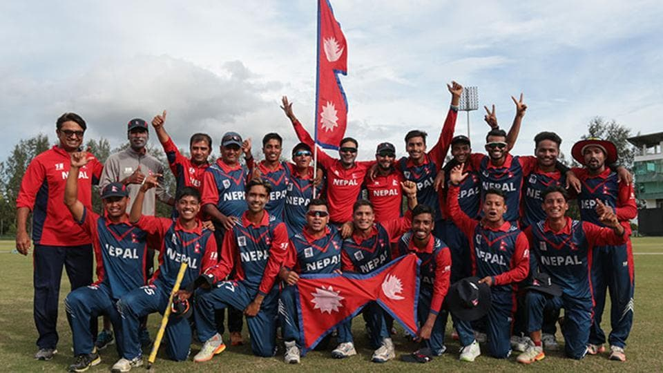Nepal stunned India by 19 runs in the U-19 Asia Cup on Sunday.