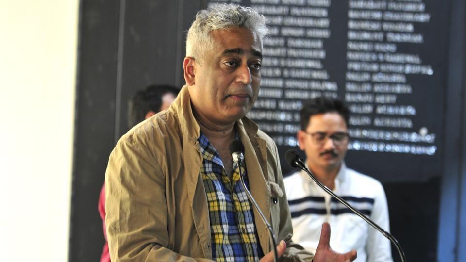 Rajdeep Sardesai,Chandigarh Press Club,fake news