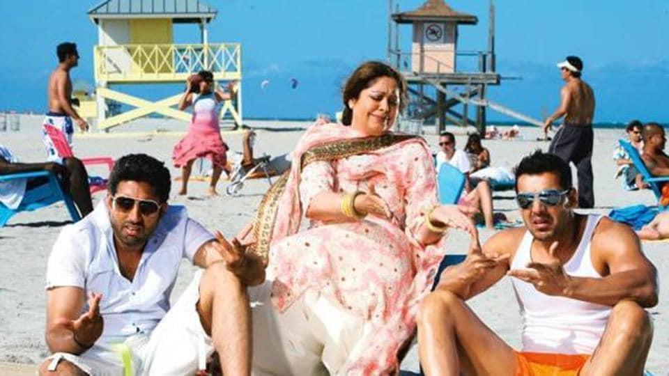 Dostana,Kirron Kher,Abhishek Bachchan
