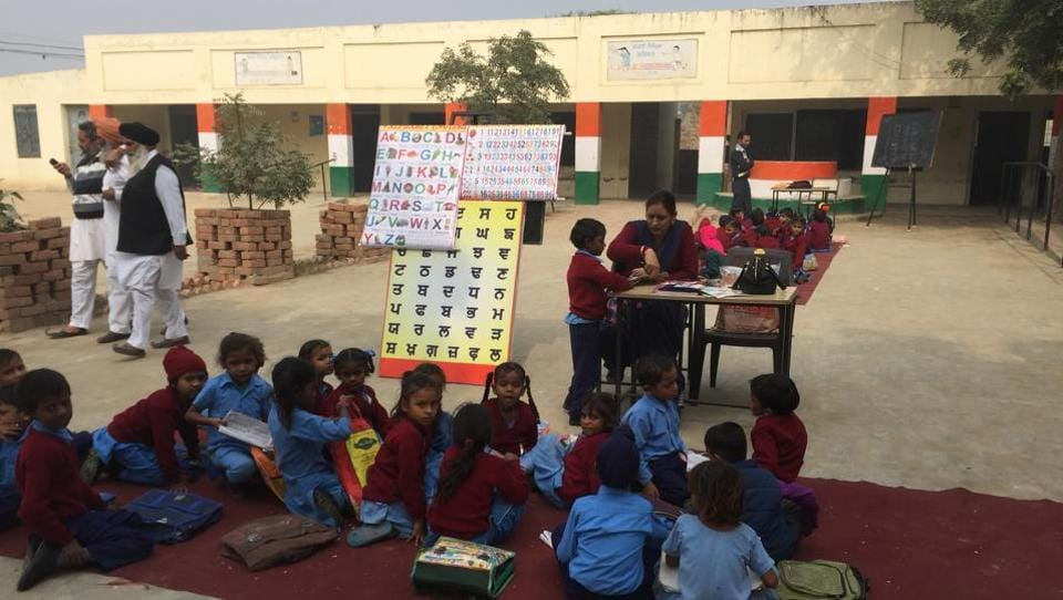 Faridkot SDM Gurjit Singh said he had directed deputy education officer, Dharmvir Singh, to take necessary action and get the room unlocked for the use of the school.
