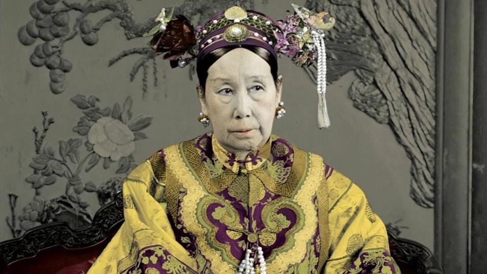 Empress Dowager Cixi was a 19th century ruler who was a serious arts patron and even an artist herself.