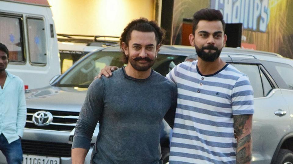 Virat Kohli,Aamir Khan,Indian cricket team