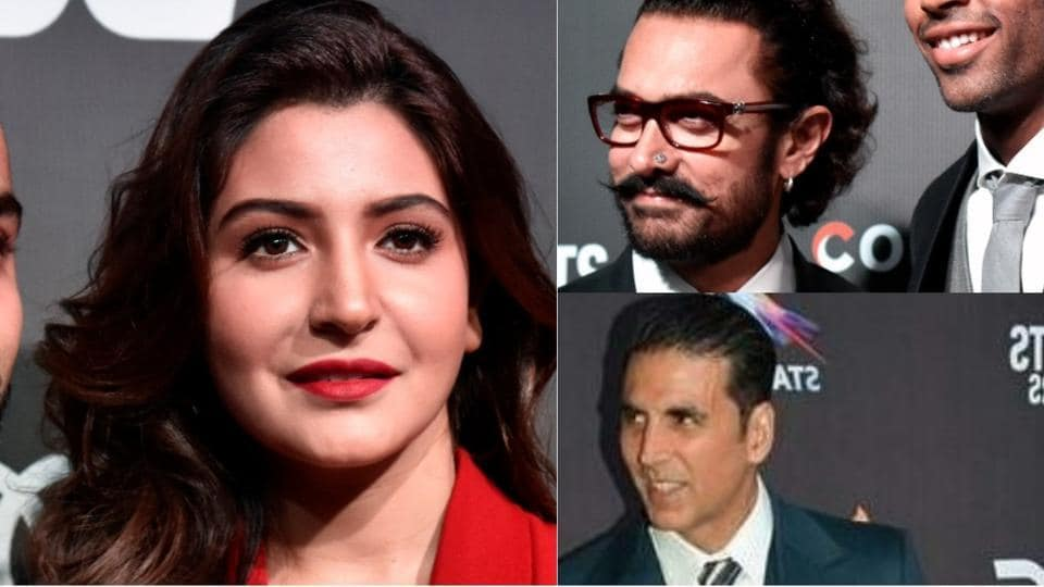 It was a star-studded night as Aamir Khan, Akshay Kumar, Anushka Sharma and several Bollywood celebrities joined sports stars for the inaugural session of Indian Sports Honours.