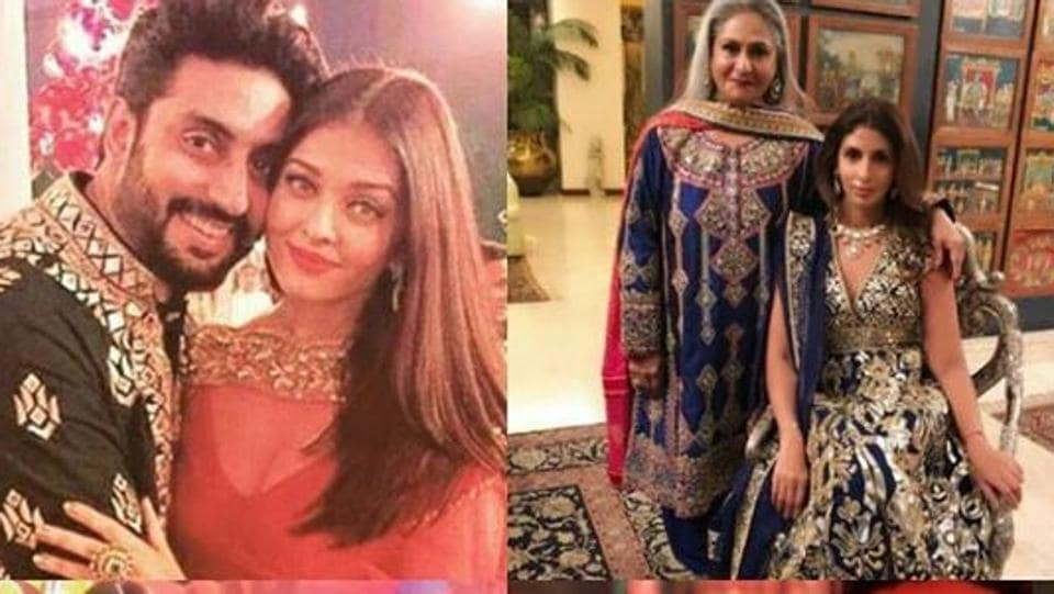 The Bachchan Family Was Spotted At A Mumbai Wedding On Saturday