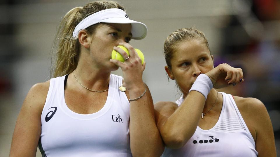 Unites States defeated Belarus  6-3, 7-6(3) in the deciding to lift their 18th Fed Cup tennis title